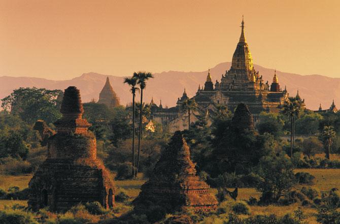 Pagodas de Myanmar-2